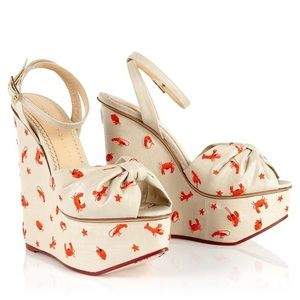 Charlotte Olympia Crabby Wedges